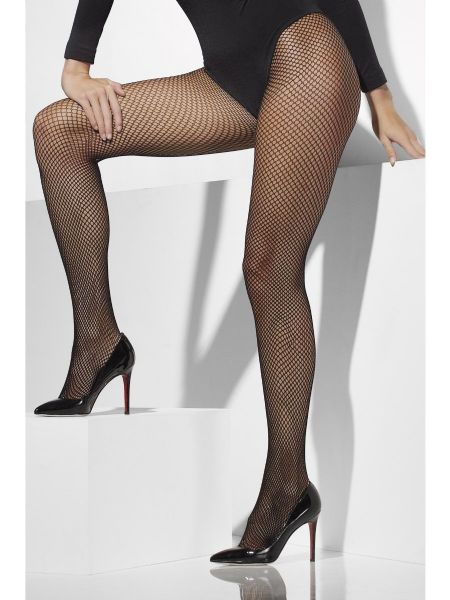 Fishnet Tights Extra Large - Black